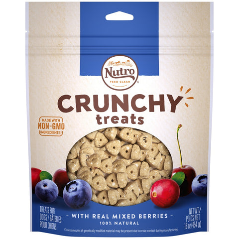 Nutro Crunchy Treats with Real Mixed Berries Dog Treats