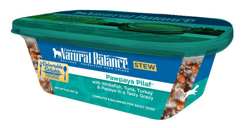 Natural Balance Delectable Delights Pawpaya Pilaf Flavor Wet Dog Food