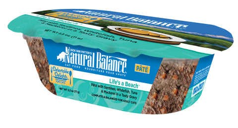 Natural Balance Delectable Delights Lifes a Beach Flavor Wet Cat Food