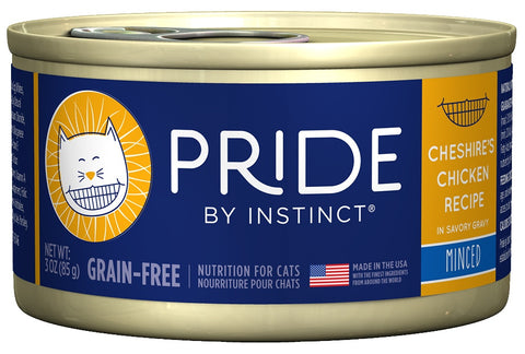 Nature's Variety Pride by Instinct Minced Cheshire's Chicken Canned Cat Food