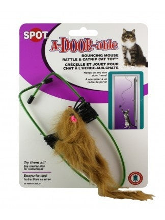 Ethical Pet SPOT A-Door-Able Plush Mouse Cat Toy