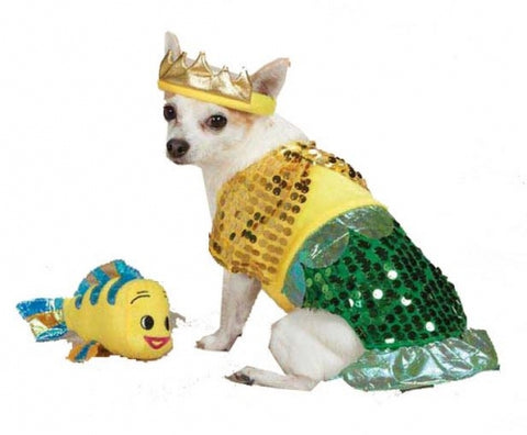 Zack and Zoey Lil Furrmaid Dog Costume