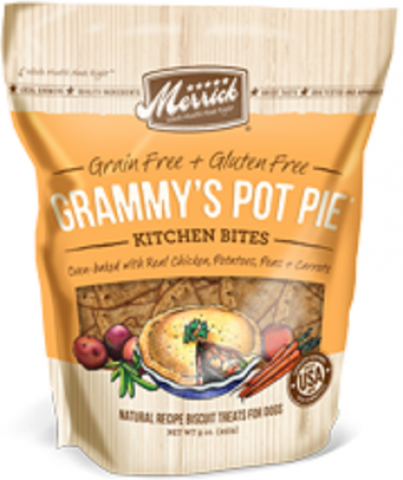 Merrick Grammy's Chicken Pot Pie Kitchen Bites Dog Treats