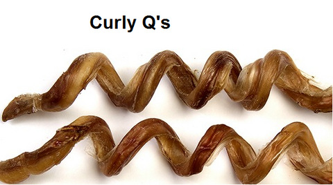 Jones Natural Chews Curly Q Dog Treat