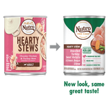 Nutro Hearty Stew Chunky Chicken & Turkey Stew Adult Canned Dog Food