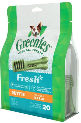 Greenies Petite Mint Dental Dog Chews