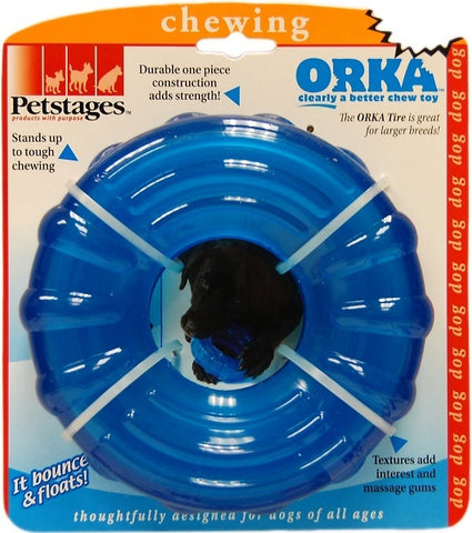 Petstages ORKA Tire Dog Chew Toy