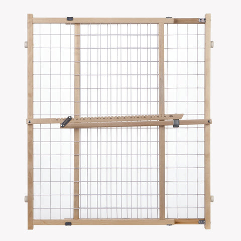 North States Wide Wire Mesh Pet Gate