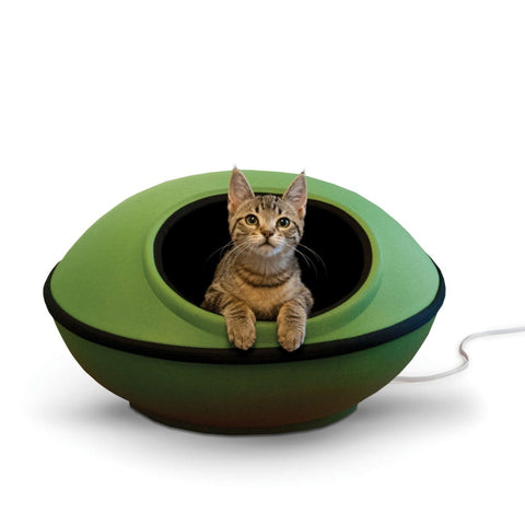 K&H Pet Products Thermo-Mod Green/Black Dream Pod