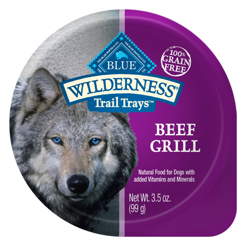 Blue Buffalo Wilderness Beef Grill Dog Food Cup