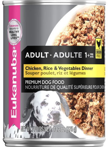 Eukanuba Adult Chicken, Rice and Vegetables Dinner Canned Dog Food