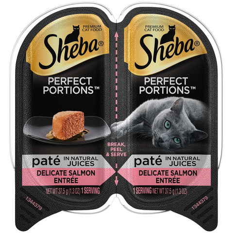 Sheba Perfect Portions Pate Delicate Salmon Entree Wet Cat Food