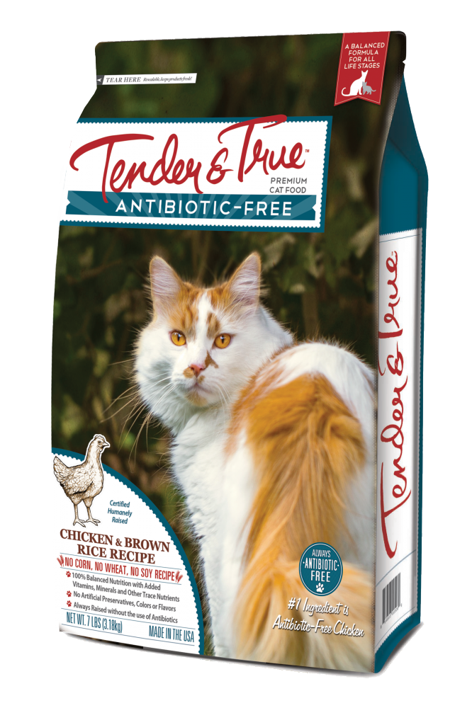 Tender true antibiotic free chicken and brown rice recipe dry cat tender true antibiotic free chicken and brown rice recipe dry cat food forumfinder Image collections