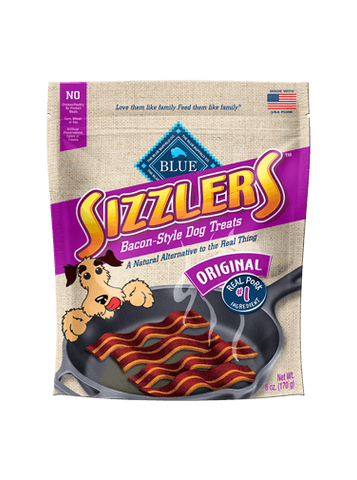 Blue Buffalo Sizzlers Original Pork Dog Treats