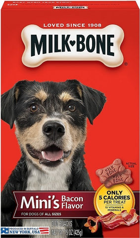 Milk-Bone Mini's Bacon Flavor Dog Treats