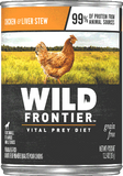 Wild Frontier Vital Prey Grain Free Chicken and Liver Stew Canned Dog Food
