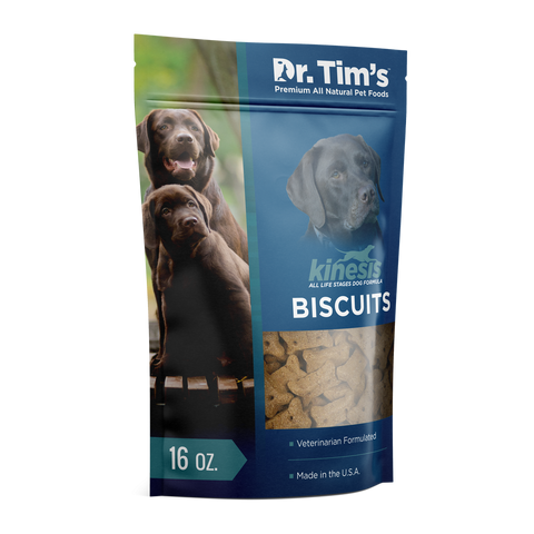 Dr. Tim's Kinesis Biscuits All Life Stages Dog Treats