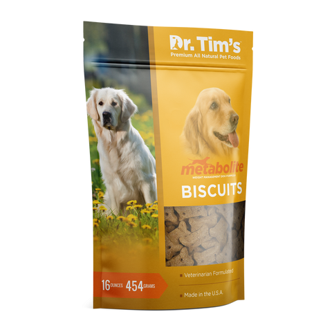 Dr. Tim's Metabolite Biscuits Weight Management Dog Treats