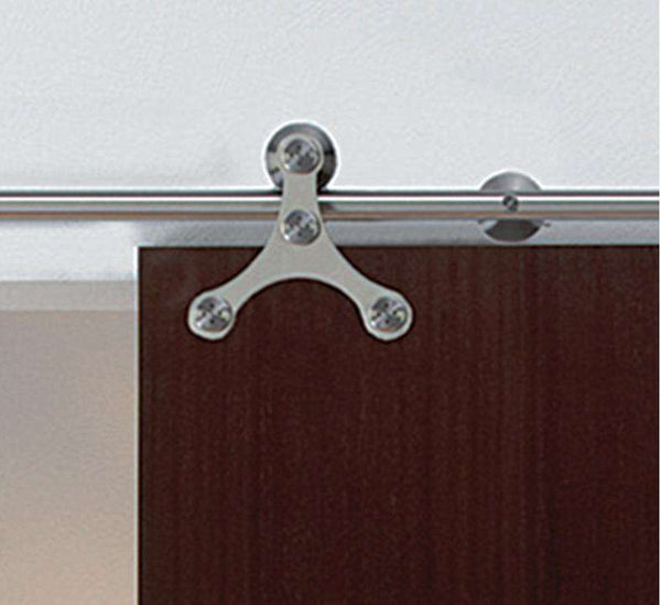 Hafele Tritec Solid Stainless Steel Track Set - Stellar Hardware and Bath