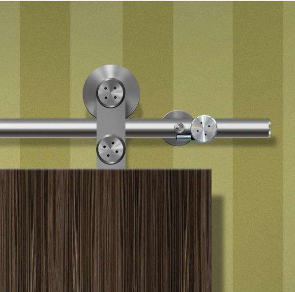Hafele Flatec II Solid Stainless Steel Track Set - Stellar Hardware and Bath