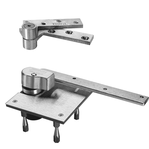 Rixson L117 Heavy Duty 3/4'' Offset Pivot Set - Stellar Hardware and Bath