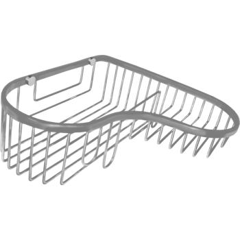 Cool Lines CL412  Stainless Steel Wire Corner Combo Shower Basket - Stellar Hardware and Bath