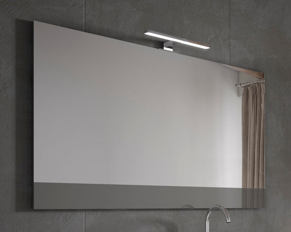 "Lucena Bath 24"" Grey Vision Mirror - Stellar Hardware and Bath"
