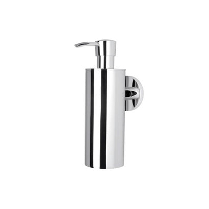 Nemox Collection Wall Mounted Chrome Soap Dispenser - Stellar Hardware and Bath