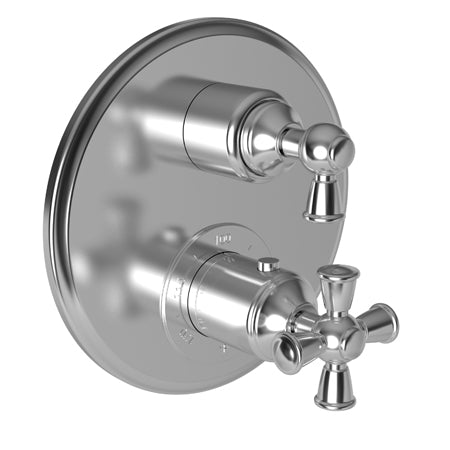 "Newport Brass Aylesbury 3-2403TR 1/2"" Round Thermostatic Trim Plate with Handle - Stellar Hardware and Bath"