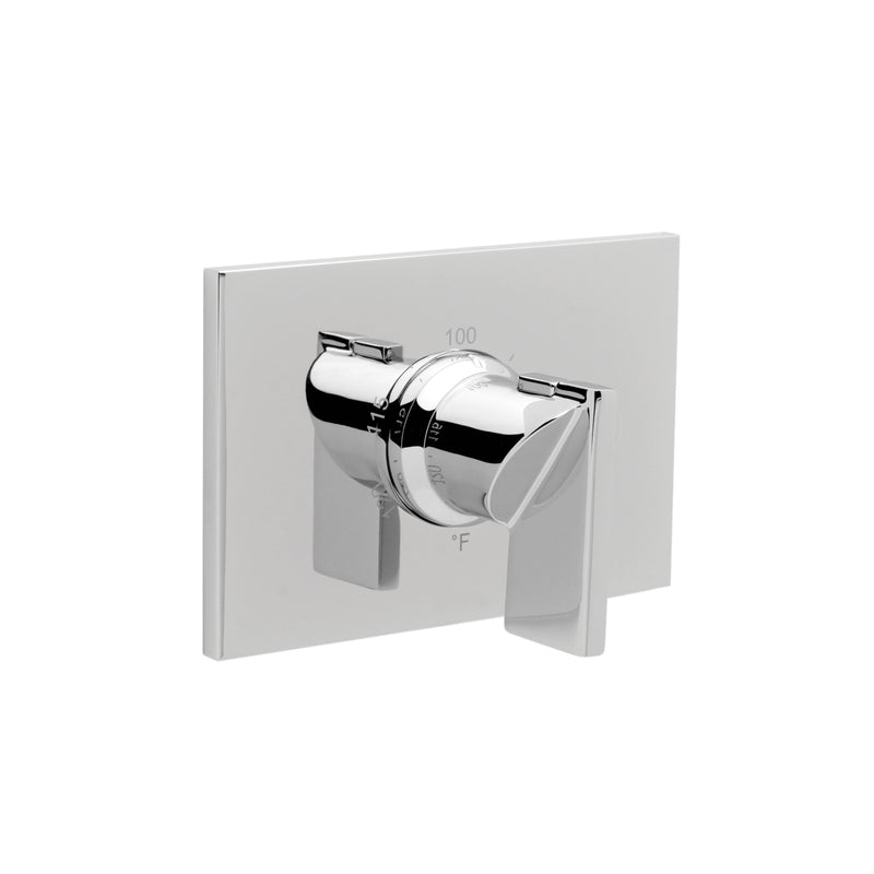 "Newport Brass Metro 3-2544TS 3/4"" Rectangular Thermostatic Trim Plate with Handle - Stellar Hardware and Bath"