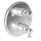 "Newport Brass Vander 3-2913TR 1/2"" Round Thermostatic Trim Plate with Handle - Stellar Hardware and Bath"