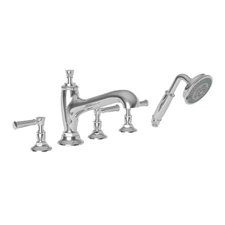 Newport Brass Vander 3-2917 Roman Tub Faucet with Hand Shower - Stellar Hardware and Bath