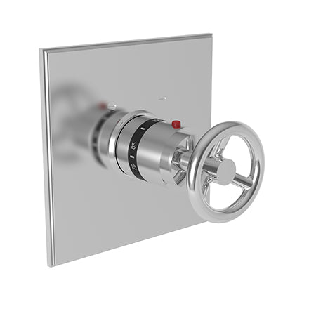 "Newport Brass Slater 3-2924TS 3/4"" Square Thermostatic Trim Plate with Handle - Stellar Hardware and Bath"