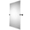 "Braga Rectangular Mirror, 22"" W x 33"" H - Stellar Hardware and Bath"