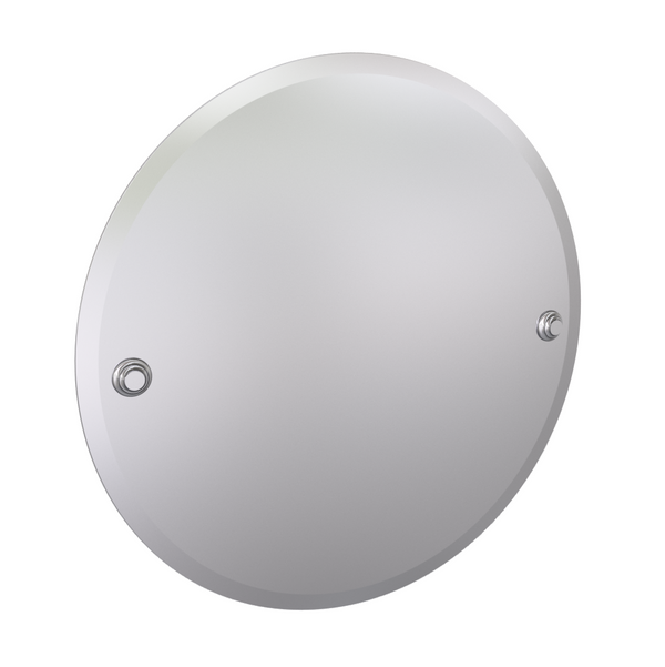 Valsan Kingston Chrome Round Mirror, 18 3/4""