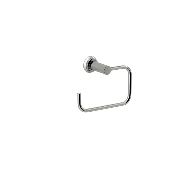 Valsan Nova Chrome Toilet Roll Holder without Lid - Stellar Hardware and Bath