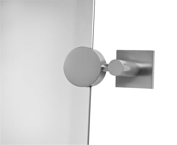 Valsan Braga Chrome Pair Tilt Mirror Supports (Pair)