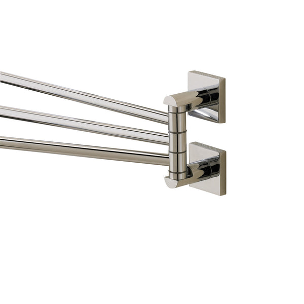 Valsan Braga Chrome Adjustable Towel Rail, 17 5/16""