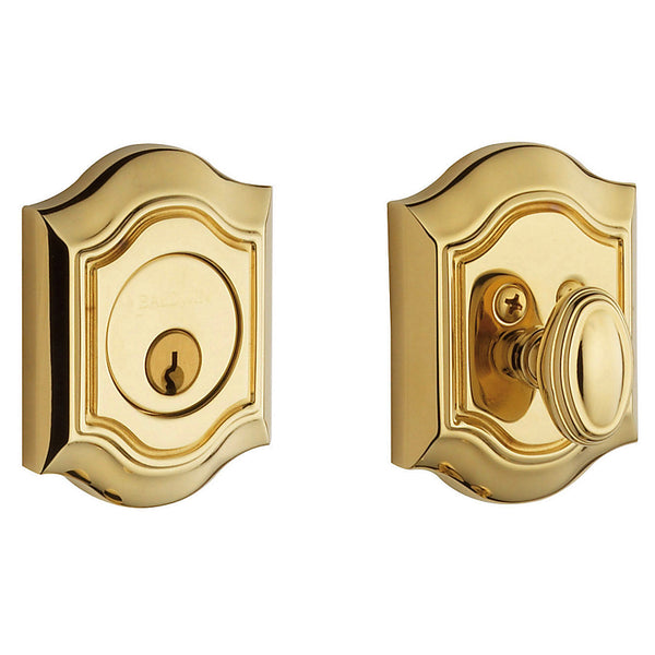Baldwin 8237 CONTEMPORARY DEADBOLT - Stellar Hardware and Bath