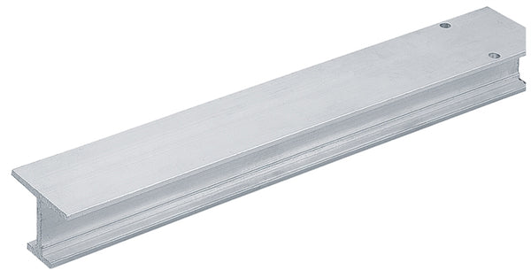 "Grant 1201 - Single I-Beam Door Track (1"" Thick and Up) - Aluminum"