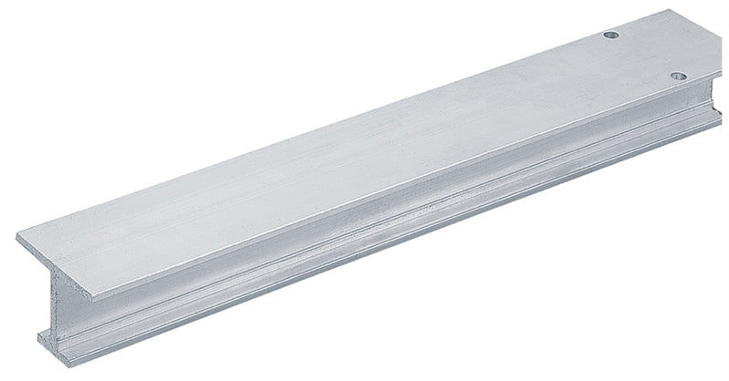 "Grant 1201 - Single I-Beam Door Track (1"" Thick and Up) - Aluminum - Stellar Hardware and Bath"