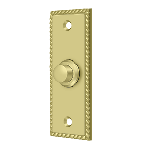 Deltana BBSR333 Bell Button, Rectangular Rope