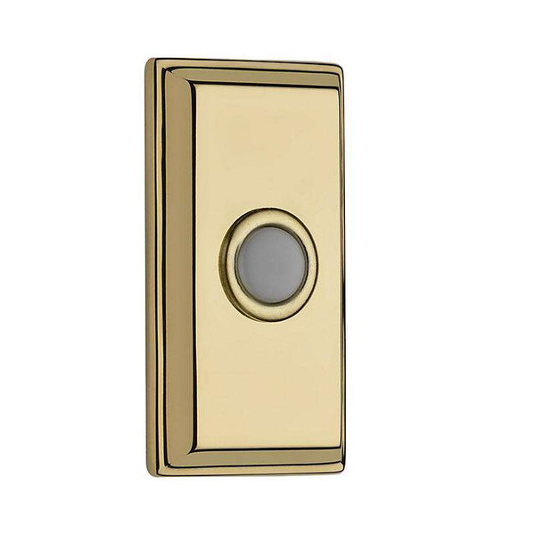 Baldwin BR7015 Rectangular Bell Button - Stellar Hardware and Bath