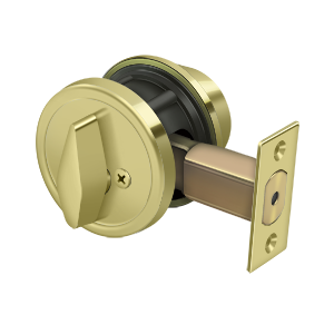 "Deltana CL200LA Single Deadbolt GR2 w/ 2-3/4"" Backset"