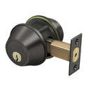 "Deltana CL210LA Double Deadbolt GR2 w/ 2-3/4"" Backset - Stellar Hardware and Bath"