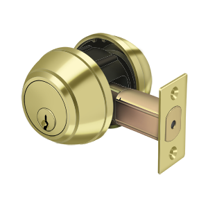 Deltana CL210LM Double Deadbolt GR1