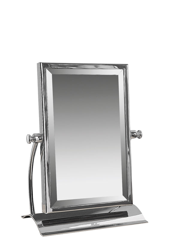 Valsan Classic Chrome Freestanding Table Mirror - Stellar Hardware and Bath