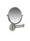 Valsan Classic Chrome Contemporary Wall Mounted x3 Magnifying Mirror - Stellar Hardware and Bath
