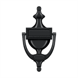 DKR75 Victorian Rope Door Knocker - 7 1/2'' x 4''