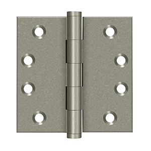 "Deltana DSB4 Square Hinges - 4"" x 4"" - Stellar Hardware and Bath"